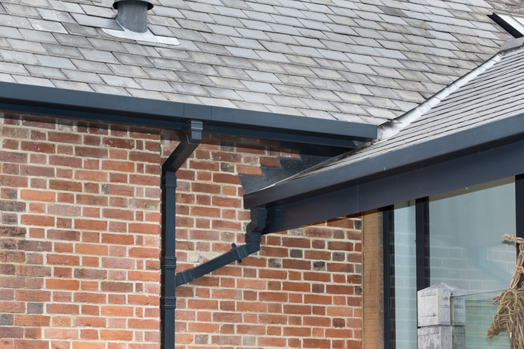 Aluminium guttering by Marley Alutec Chapel View Goudhurst