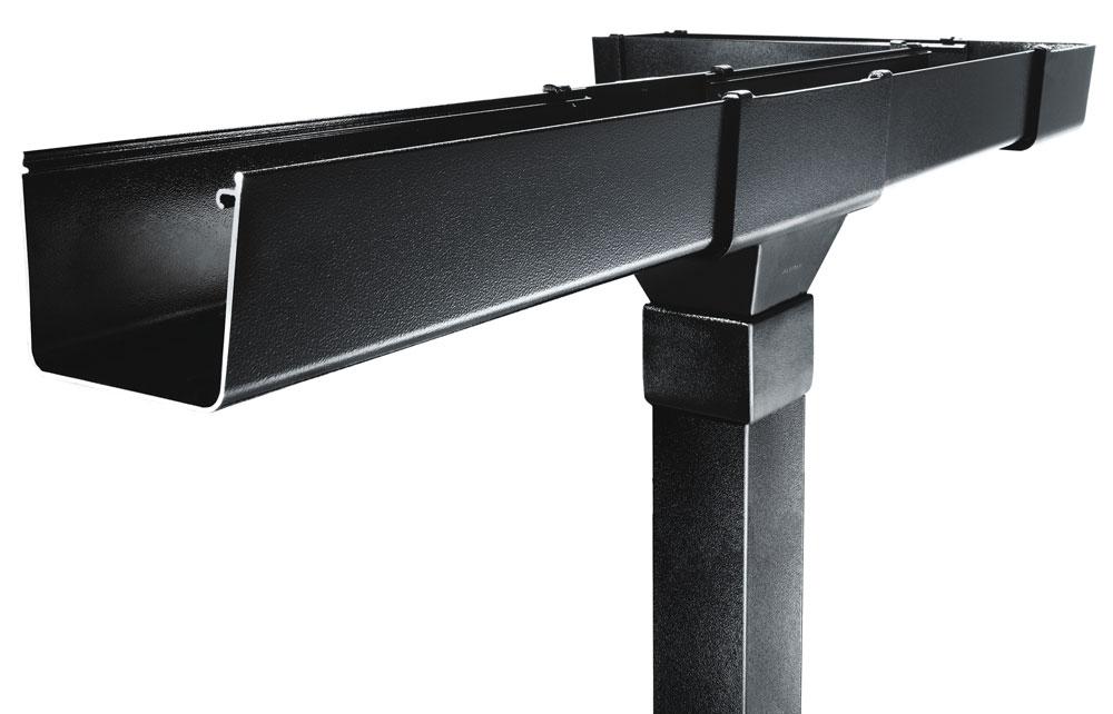 Evolve Box Aluminium Guttering System From Marley Alutec