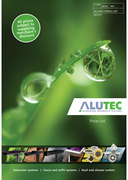Marley Alutec sustainable aluminium rainwater and eaves solutions
