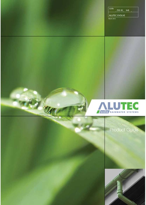 Marley Alutec Evolve Rainwater Systems image