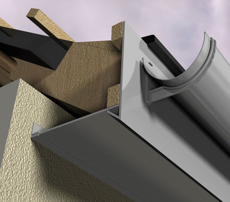 Aluminium Fascia, Soffit & Coping Systems From Marley Alutec