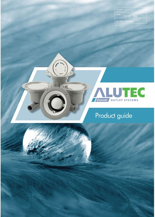 Marley Alutec shower outlets range
