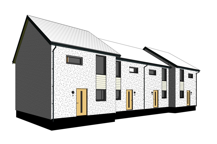 Marley Alutec Valleydale Mews BIM project with BIMstore