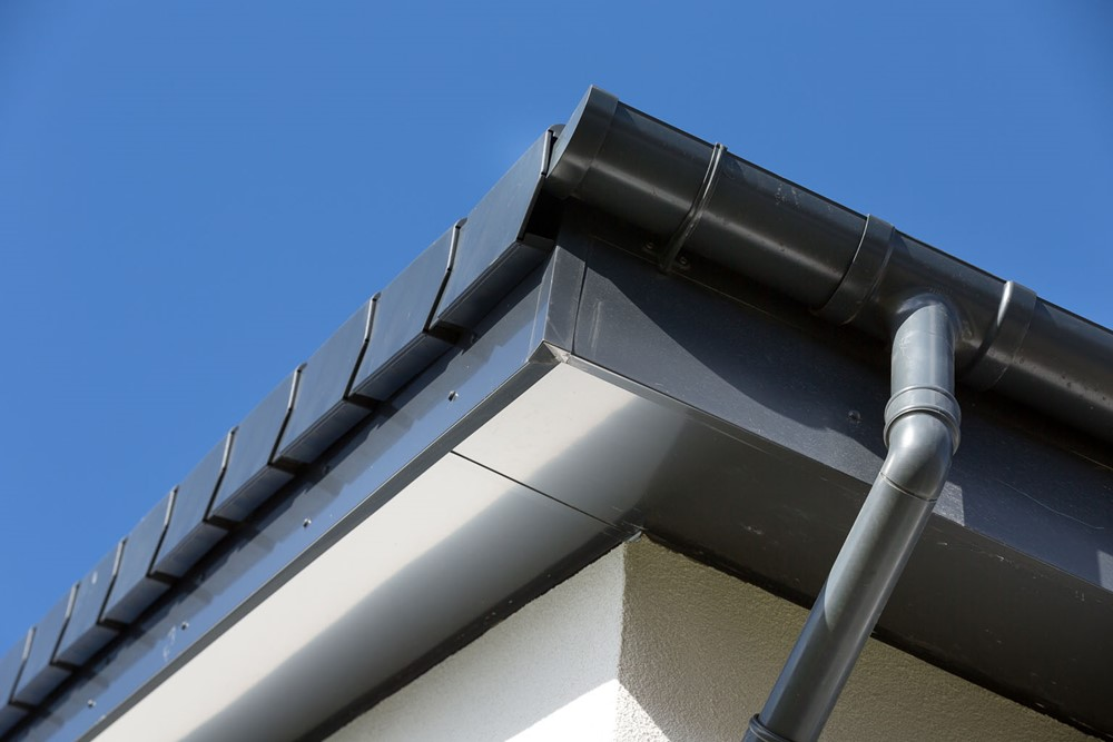 Aluminium guttering by Marley Alutec Valleydale Mews, Blyth