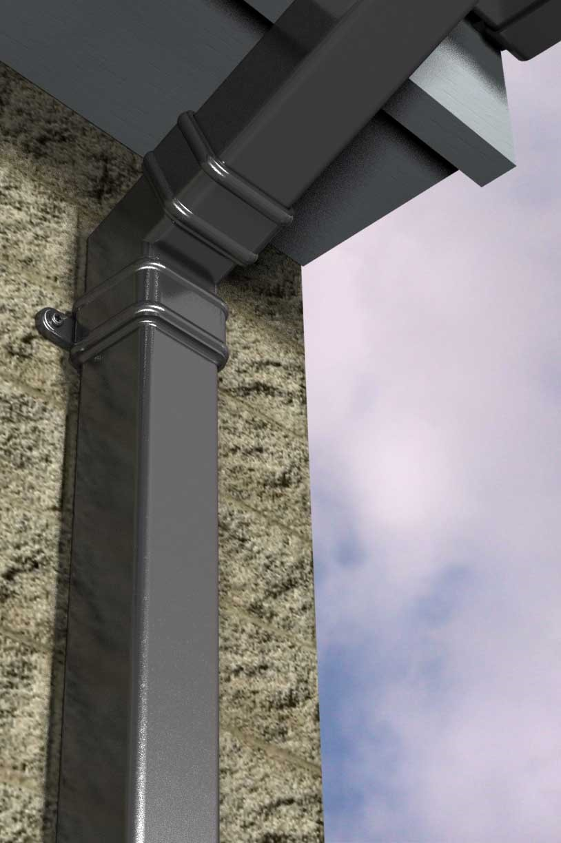 Aluminium Rainwater Downpipe Systems From Marley Alutec