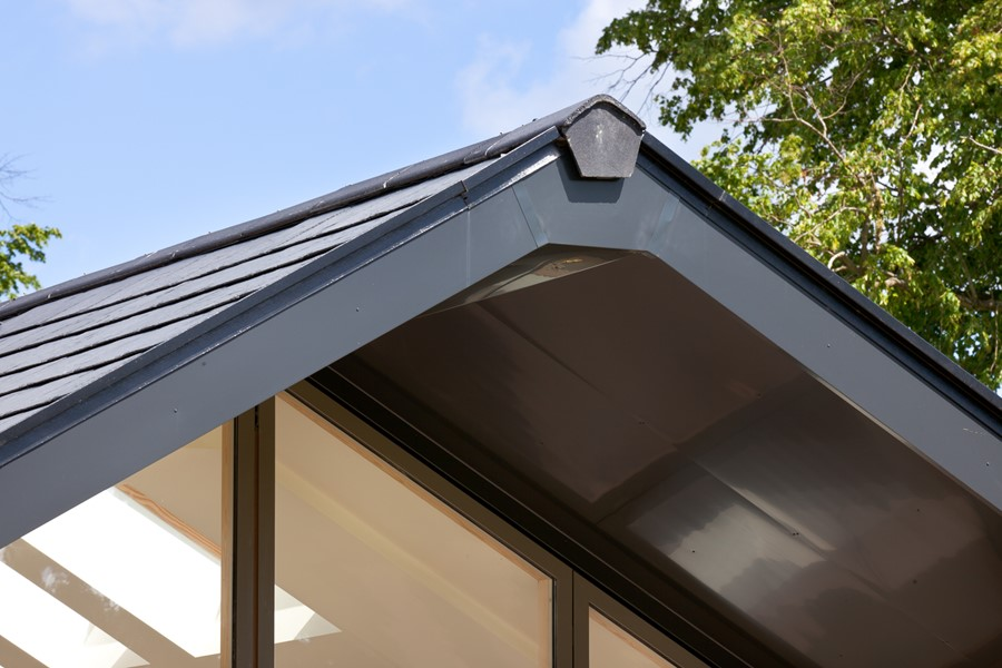 Aluminium guttering by Marley Alutec Stockgrove Bedfordshire