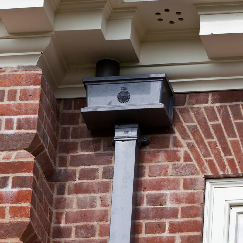 Aluminium guttering by Marley Alutec Forest of Bere Hampshire