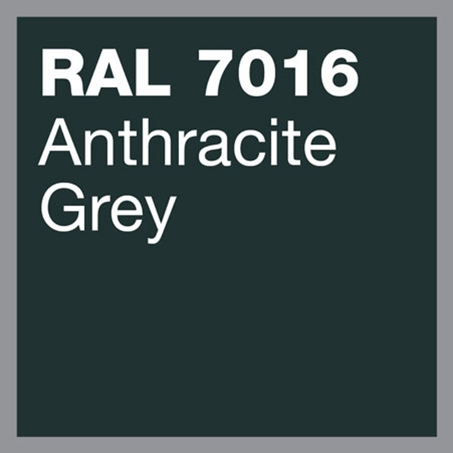 RAL 7016 Anthracite grey powder coating by Marley Alutec