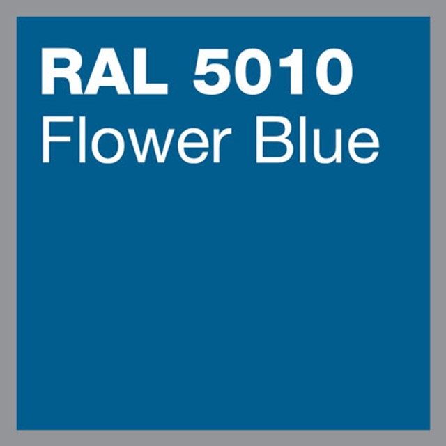 RAL 5010 Flower blue powder coating by Marley Alutec