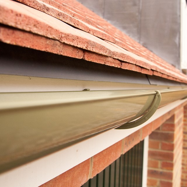 Aluminium guttering by Marley Alutec Evolve Swindon