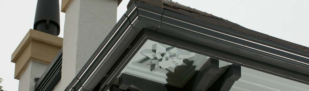 Marley Alutec Traditional aluminium gutter systems mega menu case study