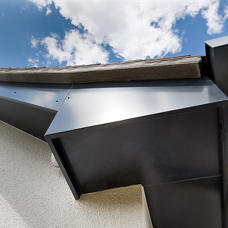 Aluminium guttering by Marley Alutec Grove Spring Belbroughton