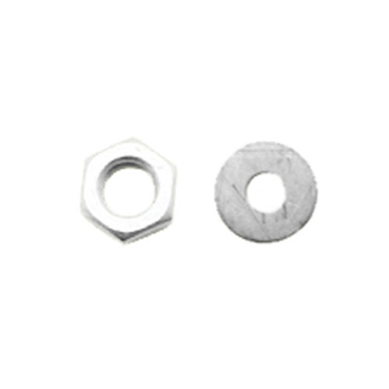 Aluminium nut and washer