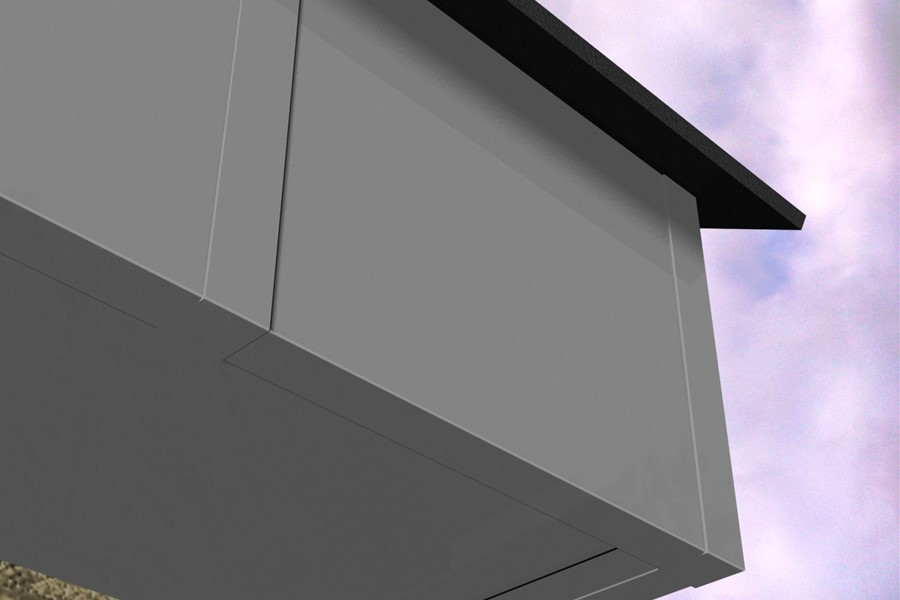 INSTALL ALUMINIUM COMPOSITE FASCIAS AND SOFFITS LIKE PVC