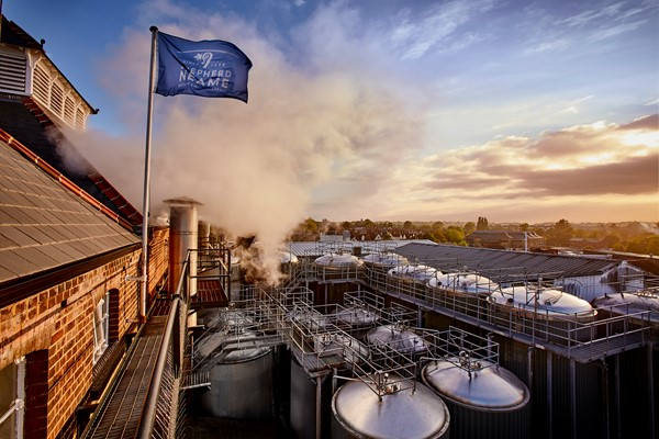 BRITAIN'S OLDEST BREWERY BENEFITS FROM ALUMINIUM RAINWATER SYSTEMS