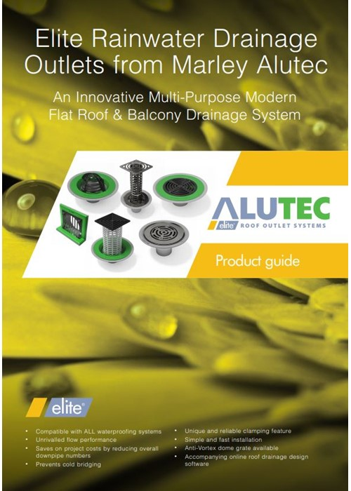 Marley Alutec comprehensive range of roof outlets