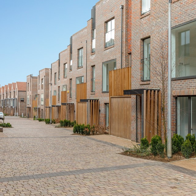 CONTEMPORARY AND TRADITIONAL DESIGN AT NEW LUXURY HOUSING DEVELOPMENT