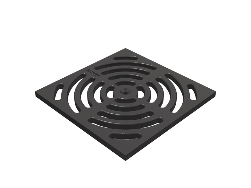 Roof outlet terrace grate with screw (1 off)