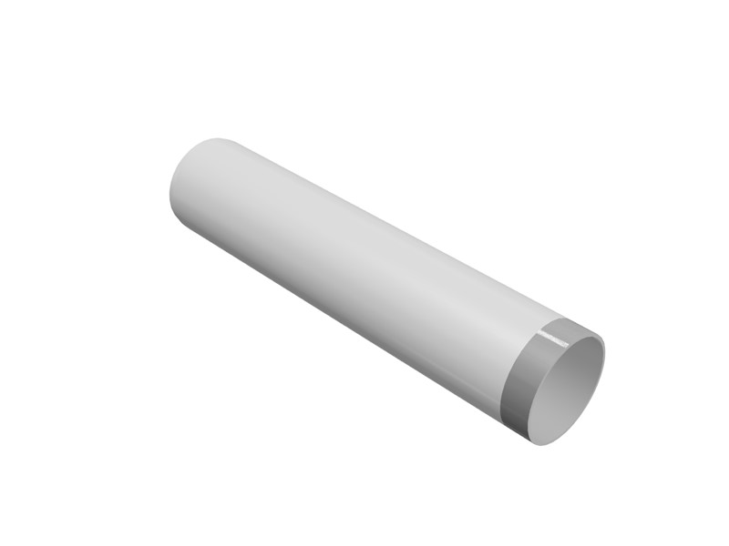 82mm⌀ Threaded PVCu Pipe Connector