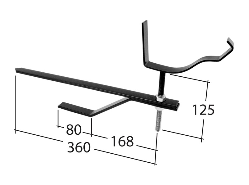 100mm Rise & fall bracket