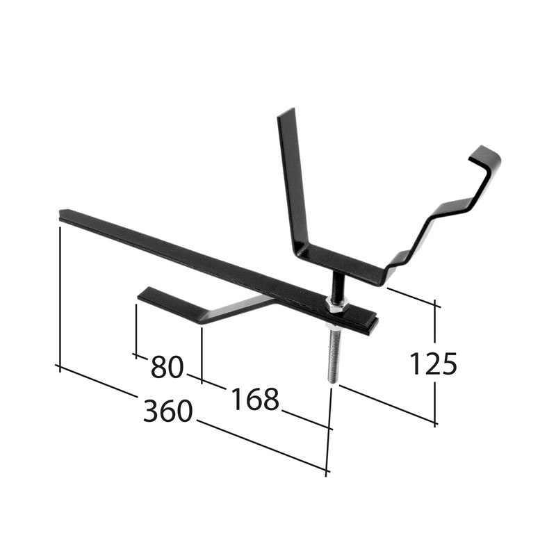 125mm Rise & fall bracket