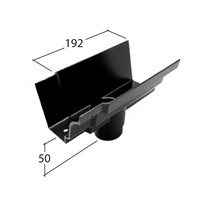 Marley Alutec Traditional Moulded Ogee aluminium gutter outelt GM422 GM522 GM622 GM423 GM523 GM623 GM524 GM624