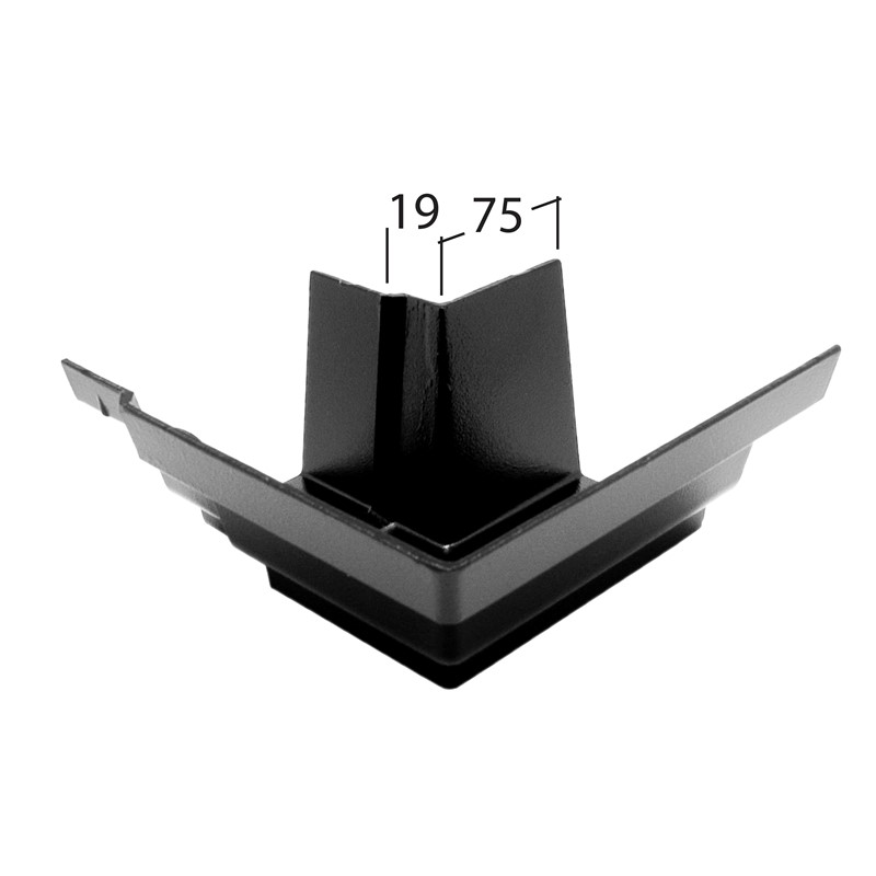 Marley Alutec Traditional Moulded Ogee aluminium gutter angle GM431 GM531 GM631