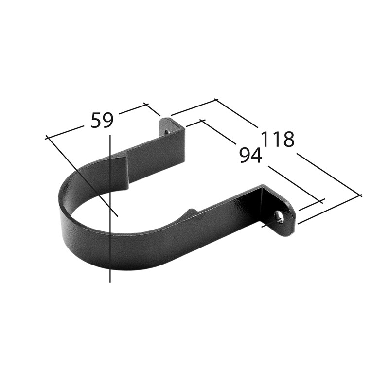 63mm Pipe Clip