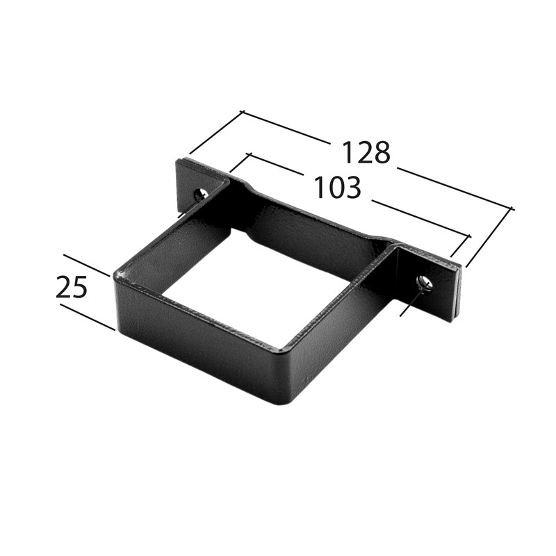 72mm Square Pipe Clip