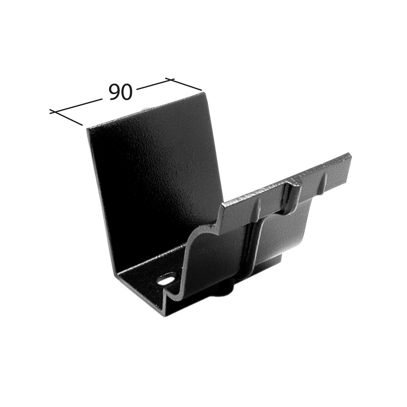 Marley Alutec Traditional Moulded Ogee aluminium gutter union GM420 GM520 GM620