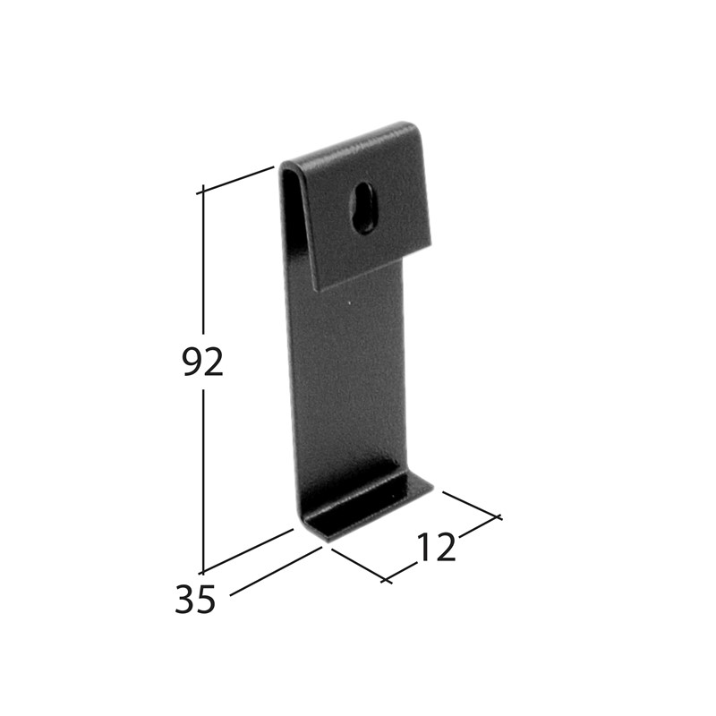Marley Alutec Traditional Moulded Ogee aluminium gutter Direct fix bracket GM481 GM581 GM681