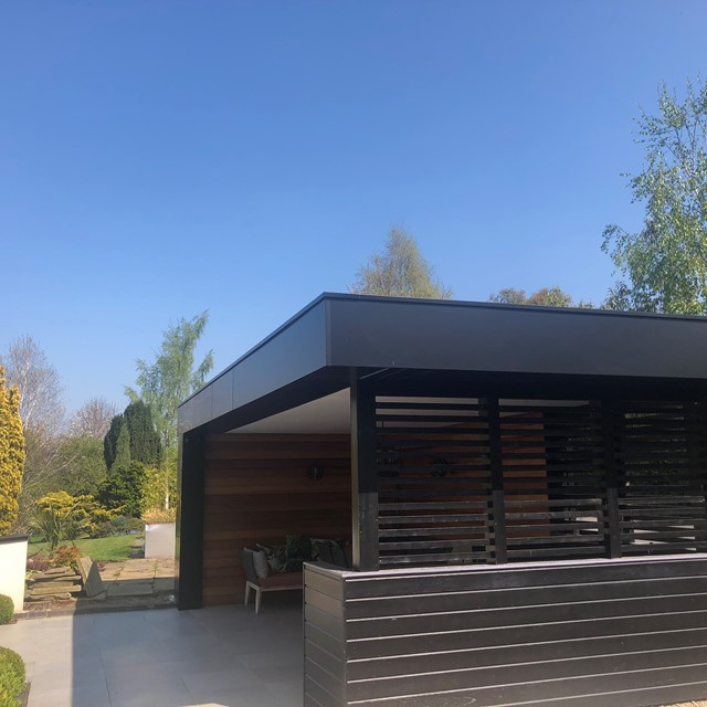 MARLEY ALUTEC PROVIDES BESPOKE OUTDOOR SOLUTION